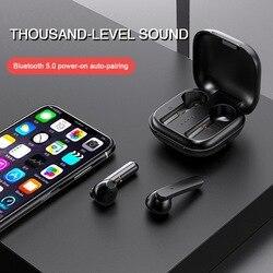 30 stücke NEUE TWS air 3 Bluetooth 5,1 Kopfhörer Lade Box Drahtlose 9D Stereo Sport Wasserdichte Ohrhörer Headsets Mit Mikrofon