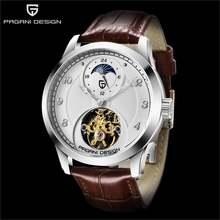 Pagani design 1650 Для мужчин Мужская watche tourbillon автоматические