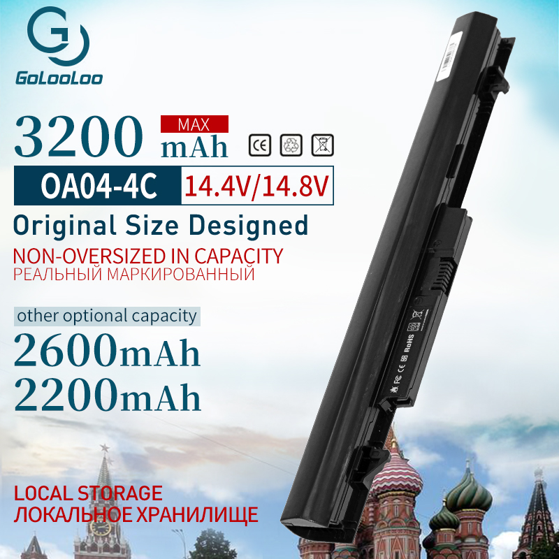 Laptop Battery For HP For COMPAQ OA03 OA04 TPN-Q129 TPN-Q131 TPN-Q130 TPN-F112 TPN-Q132 For Pavilion 14 15 240 250 HSTNN-LB5S