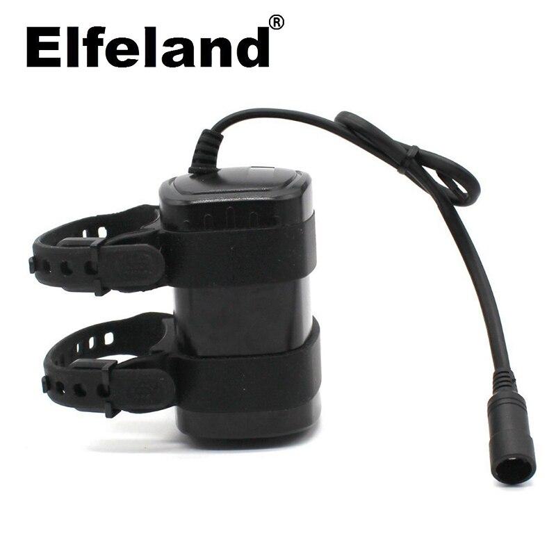 Elfeland 6x18650 9600mah 8,4 v lithium-ionen akku