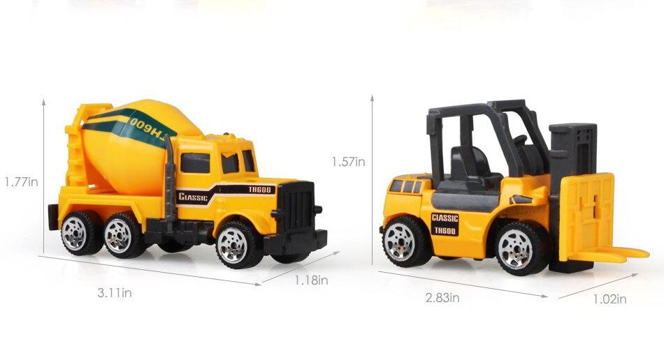 mini caminhão basculante de veículo, brinquedo educacional
