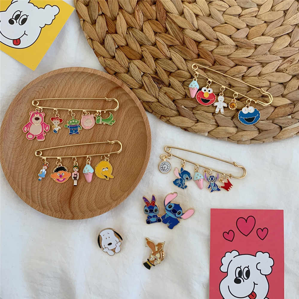 3/4 Pcs Kartun Anime Lencana Budaya Pop Bros Lucu Mainan Cerita Bros Keras Enamel Pin Perhiasan Hadiah untuk Teman Wanita