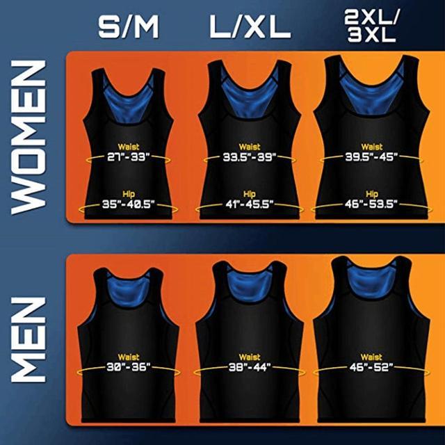 SALE Men/Women Neoprene Sweat Sauna Vest Body Shapers Vest Waist Trainer Slimming Vest Shapewear Waist Shaper Corset For Women 5