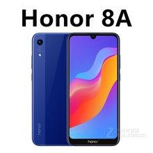 Rom global honra 8a 4g lte sim telefone livre 3020mah carga rápida mtk6765 android 8.0 13.0mp 6.09