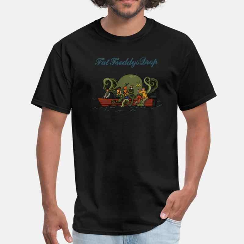 Grasso personalizzato Freddys di Goccia degli uomini T Shirt di Cotone Collo Rotondo Comic Uomini Tee Shirt Taglia Xxxl 4xl 5xl Maschio di alta Qualità