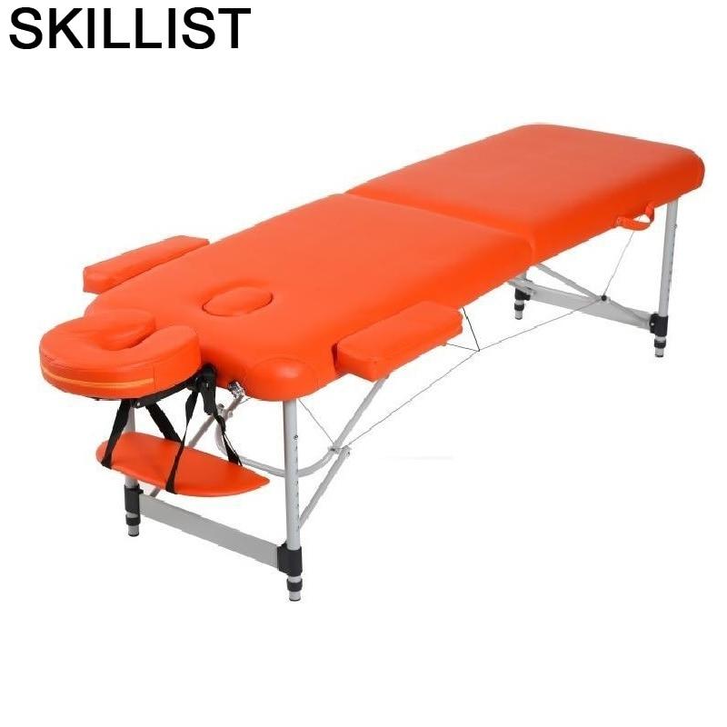 Cadeira Massagem De Masaj Koltugu Pedicure Mueble Lettino Massaggio Camilla Masaje Plegable Folding Salon Chair Massage Bed