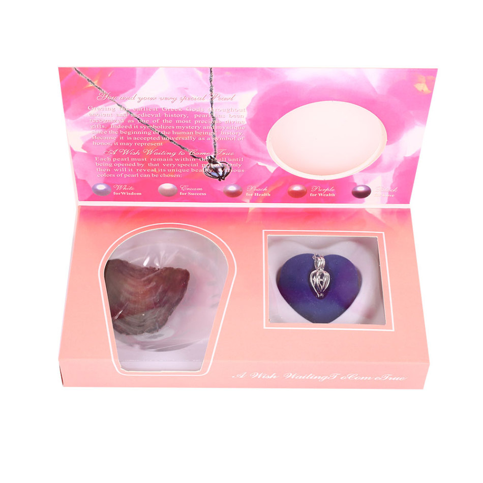 Love Wish Pearl Necklace Christmas Special Kit Gift Variety DIY in Oyster