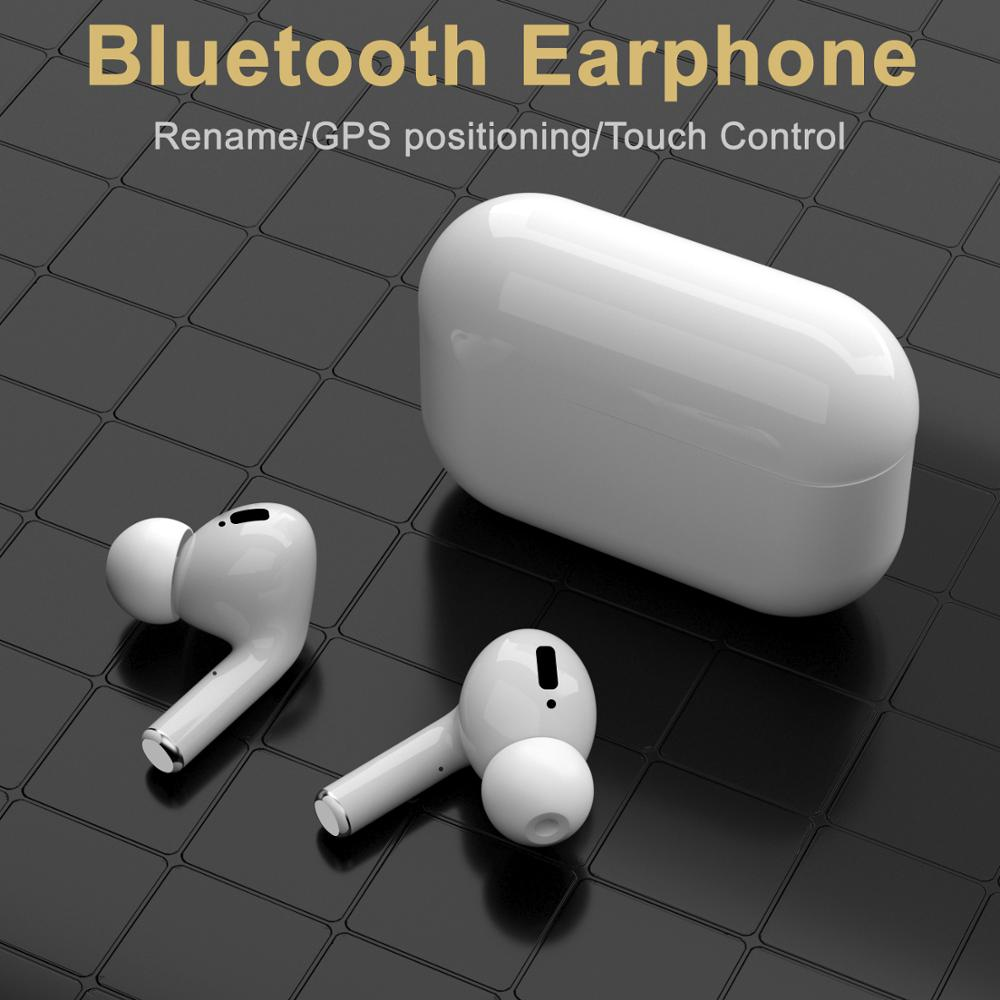 Airpodding Pro Wireless Headphones TWS Bluetooth Earphone With Mic Handsfree Headphone Stereo Bass Headset For Smart Phone