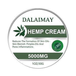 5000mg Hemp Extract Ingredient Making Cbd Cream Balm Relief Relax 30g Skin Tool Body For Anti-inflammation Pain Care Effect W1F9
