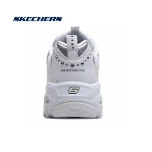 Image 2 - Skechers zapatos informales vulcanizados para mujer, zapatillas gruesas de plataforma, transpirables, 11979 WSL