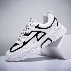 Image 3 - Erkekler rahat ayakkabılar Tenis Nefes Krasovki Lace Up Lüks Moda Sokak Trend Işık Sneakers Erkek Chaussure Homme Zapatillas 46