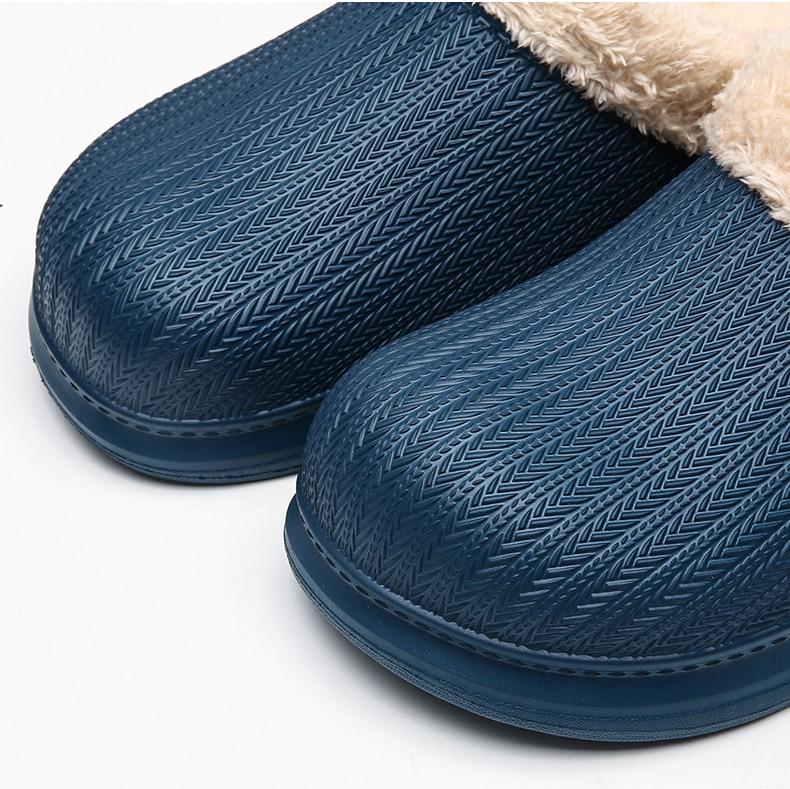 Fora-bound chinelos de inverno das mulheres dos