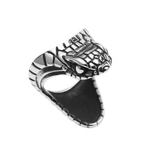 Gothic Personality Punk Cool Snake Mens Ring Unique Jewelry