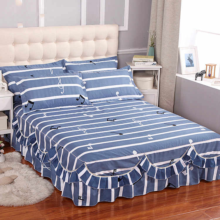 High Quality Cotton Quilted Bedspreads Fitted Sheet Bedroom Bed Cover Home Textile Comfortable Anti-pilling Bed Coverlets