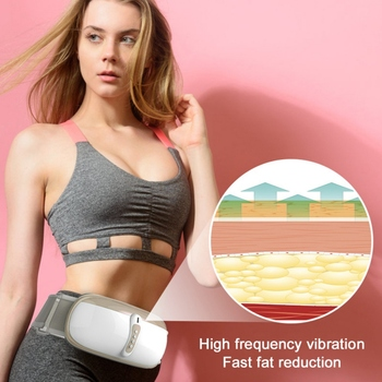 Heat Function Massage Full Body Massager Shaping Waist Device Slimming Belt  Weight Loss Rejection Fat Burning Machine