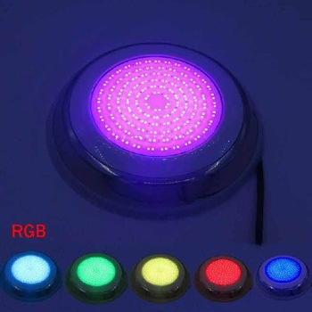12W 15W 18W 24W LED Swimming Pool Light IP68 Waterproof AC/DC 12V Outdoor RGB UnderWater Light Pond Led Piscina Luz Spotlight - RGB, 15W