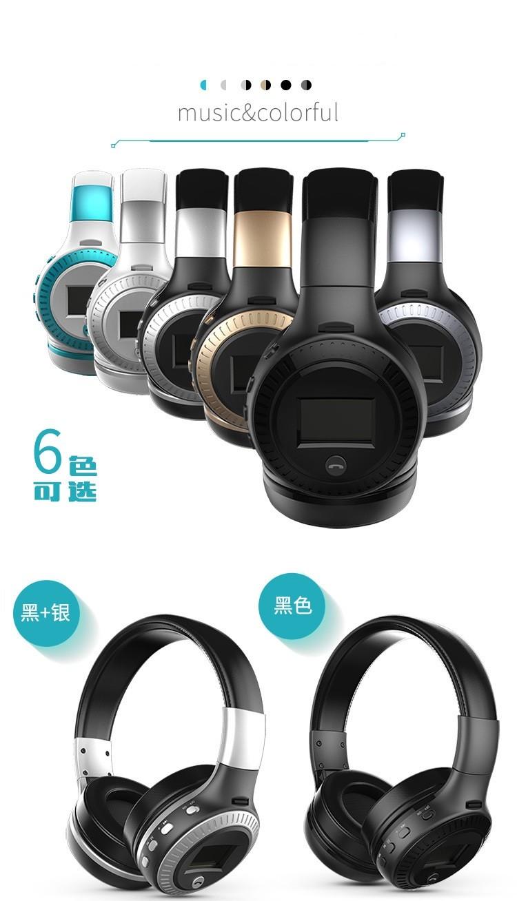 Nirkabel Minggu Headset Bluetooth 6