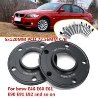 Par Carro 10mm Adaptador Espaçador Da Roda 5x120 milímetros Para BMW 1 3 5 6 7 8 Series z3 Z4 Z8 E82 E88 E30 E36 E46 E28 E34 E93 E24 E63 E64|Acessórios de pneus| |  -