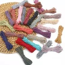 Handmade Decoration and Embellishments 109 Yards Natural Cotton Macrame Rope for Artworks DIY Crafts HULISEN 2mm Macrame Cord