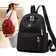 Women Backpack Rucksack Youth Large-Capacity Waterproof Shoulder-Bags Lady Bag Travel