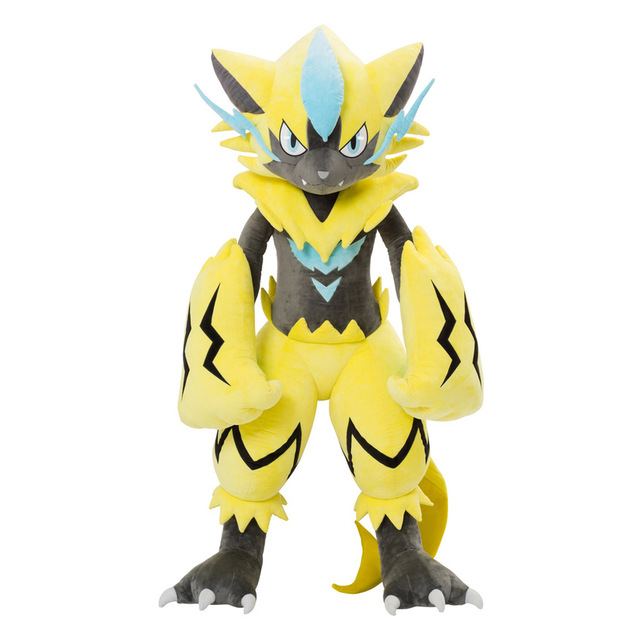 30cm Zeraora Anime Figure Toy Plush Stuffed Doll Collectible Toy Christmas Gift Japanese Plush Toys for Children