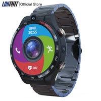 LOKMAT-reloj inteligente con pantalla de 1,6 pulgadas para hombre, Smartwatch APPLLP 4, 128GB + 4GB, 900mAh, Android 10, WIFI, GPS, para Android IOS