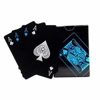 54 sztuk zestaw wodoodporny stolik pokerowy gry karty do gry tabela gry karty do gry kolekcja Poker czysta czerń zestaw tanie i dobre opinie CN (pochodzenie) 3 lat 0-30 minut Primary Normalne Z tworzywa sztucznego Poker nauczania