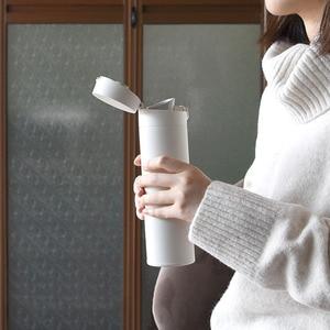 Image 5 - Botella de vacío Xiaomi 2 316L termo de acero inoxidable 6H mantener caliente/fría taza de vacío 480mL capacidad botella de aislamiento