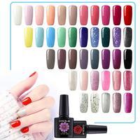 Manicure Set Gel Nail Polish Kit 40PC LED UV Gel Varnish Manicure Nail Art Extension Set Soak Off Gel Varnish 10ml