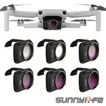 Sunnylife accesorios para cámara DJI Mavic Mini UV CPL, filtro profesional ND8 ND16 ND32 ND4, cristal para Mini Filtro de lente MAVIC