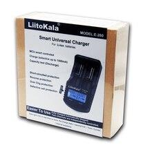 LiitoKala lii 260 LCD 3,7 V 18650/26650/16340/14500/10440/18500 Batterie Ladegerät mit bildschirm