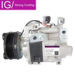 Fabryka sprzedaż bezpośrednia sprężarki AC dla Mazda CX-7 PV6 2007-2010 EG2161K00 EG2161450G H12A1AL4HX EG21-61-450A