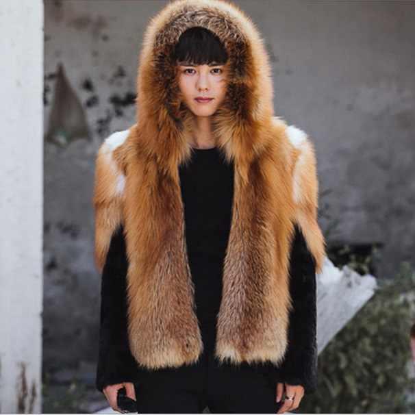 Casaco Inverno Inverno Caldo Addensare Cappotti di Pelliccia Finta Harajuku Con Cappuccio Mens Faux Fur Giacca A Maniche Lunghe Tuta Sportiva di Grandi Dimensioni XL643