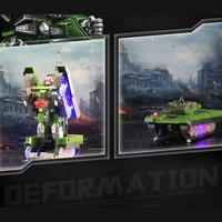 2,4 г имитация на дистанционном управлении heroмтбю Land боевой модели танков один ключ преобразования робот автоматическое устройство игрушки ...