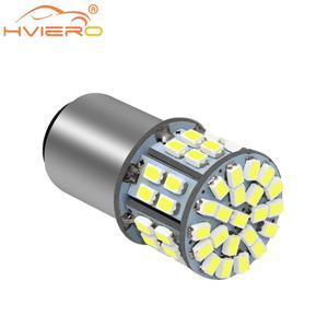1156 1157 BA15S BA15D 7440 7443 3020 50SMD Car Led P21W Auto Trunk Lamp Turn Signal Light Car Styling 50Led License Plate Light