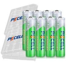 8 шт pkcell aaa аккумулятор 12 в nimhaaa перезаряжаемые батареи