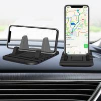 Pad-Soporte de teléfono para salpicadero de coche, alfombrilla de goma antideslizante para Huawei, iPhone, Samsung, teléfono Xiaomi