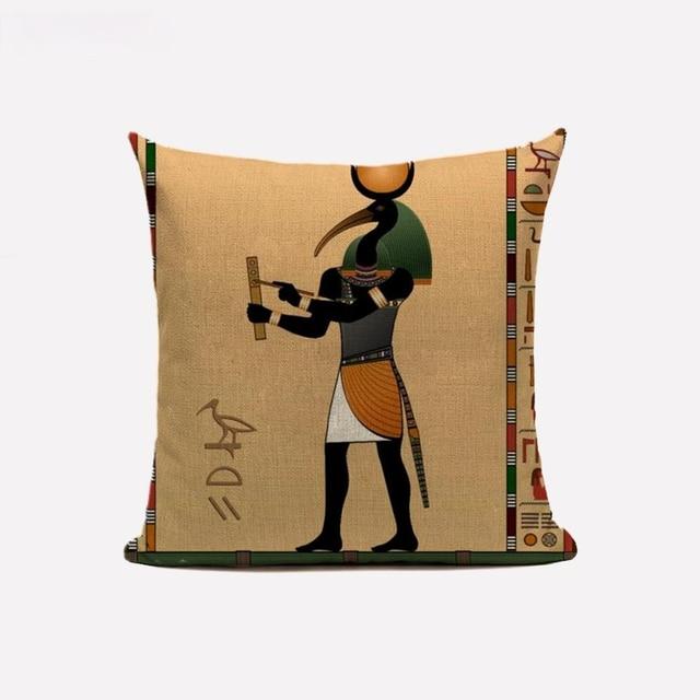 Egyptian Throw Pillow Case  6