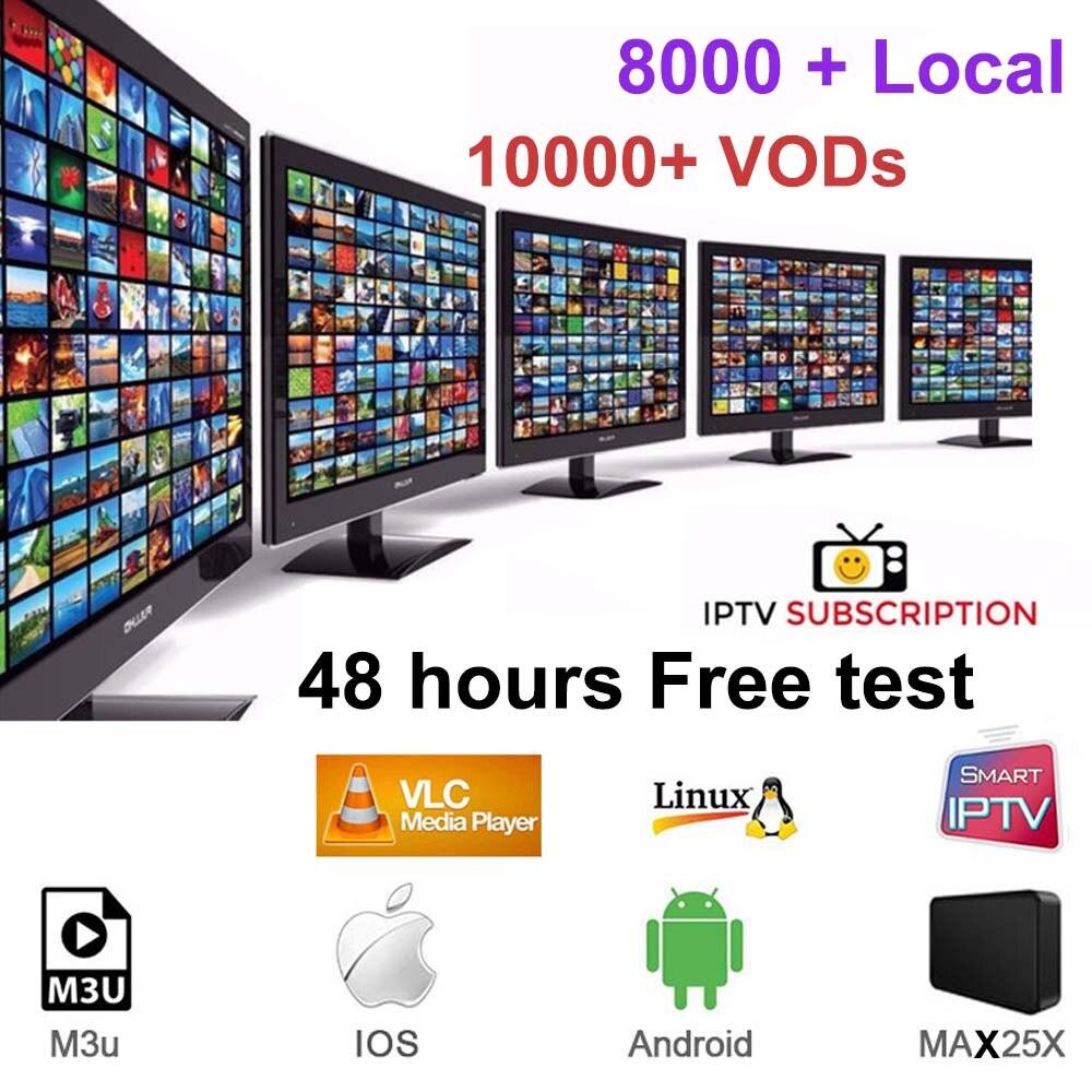 8000+ Iptv Subscription Hd Europe Arabic Internet Usa Canada Italy Spain Channels Android America Code Iptv Smart M3u
