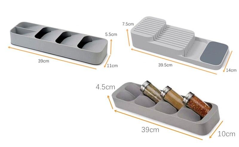 Высококачественный кухонный лоток для хранения ящиков органайзер