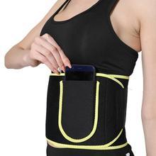 Neoprene Sauna Waist Trainer Slimming Belt Sweat Belts Shaper Fat Burn Shaperwear Adjustable Burning Fat Slimming Wrap Belt Band
