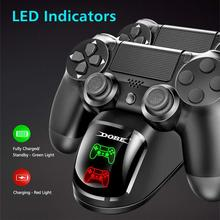 Charger Joystick Dock-Mount Dock-Station-Stand Gamepad Game-Controller Dual for PS4/PS4