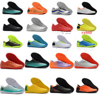 2019 indoor turf soccer shoes VAPORX 12CLUB TF IC CR7 neymar Ronaldo football boots mens low soccer cleats  Superfly orange|Soccer Shoes|Sports & Entertainment -