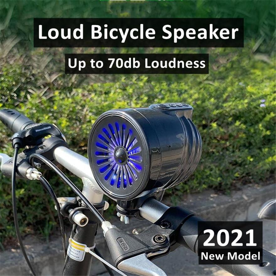 Loud Cycling Riding Bicycle Speaker Waterproof Hifi Radio Fm Usb Bike Speakers Soundbar Box Mini Sound System Loudspeaker Active