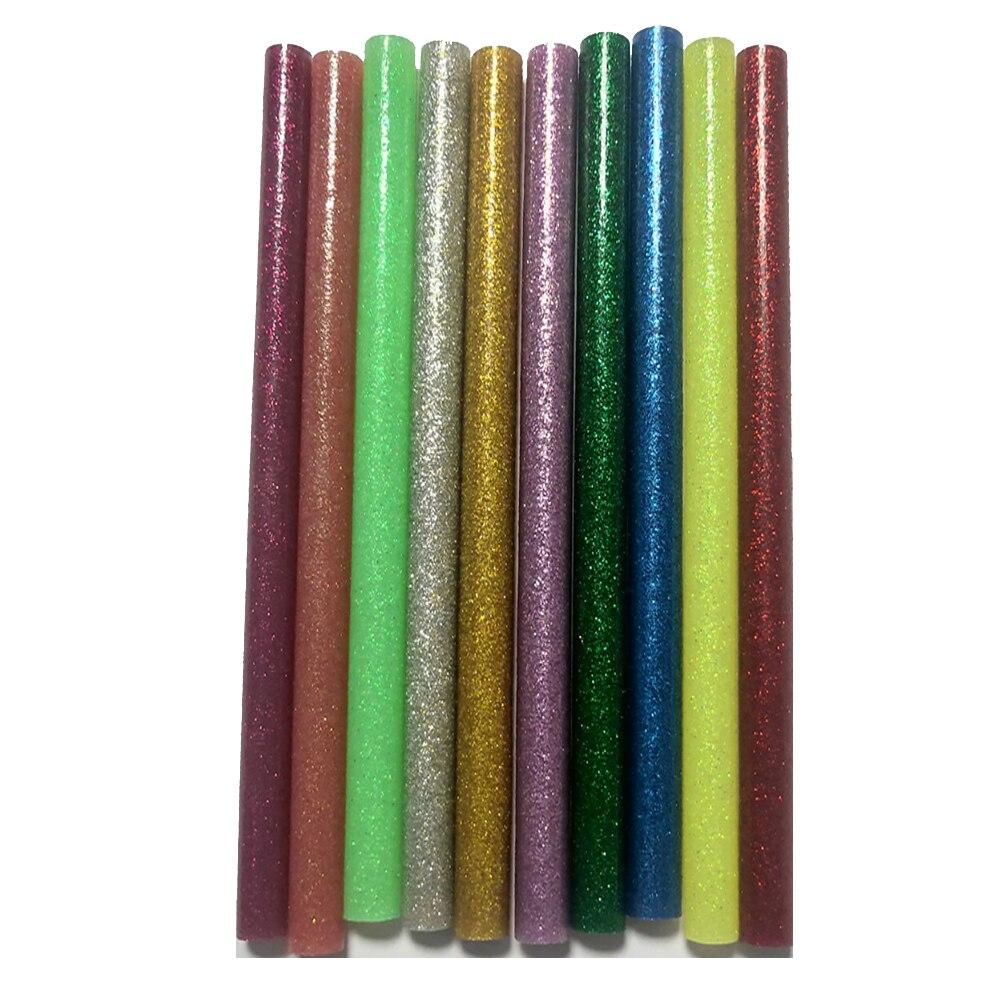 Горячая Палка расплава клейкой ленты 7 мм/11 мм * 200 мм) бусины типа «жемчужины», перламутровый цвет, Цвет Flash ремесло собственными руками Сдела...