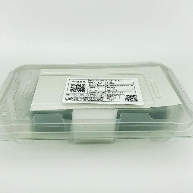 T-OCA Film adhésif transparent optique pour Samsung S20U Note 8 9 10 S10 S20 S8 S9 Plus T OCA Film LCD écran tactile colle de stratification