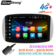 Android Radio,CarPlay for Mercedes Smart 453,fortwo,forfour,2015 2018,9inch IPS 4G Internet