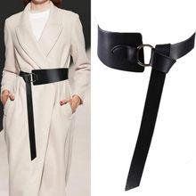 Ceinture Corset en cuir pour femmes, nouvelle collection Obi fine, rouge et noir, ceintures de loisirs avec nœud, pour robe de mariée, ceinture, 2020
