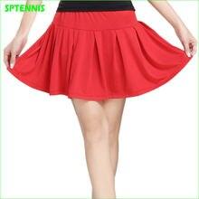 2021 Женская теннисная юбка с шортами безопасности для бадминтона