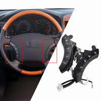 Car  styling buttons Black Color For Toyota Highlander Land Cruiser 75B037 Multi function Car steering wheel control buttons|Car Switches & Relays| |  -